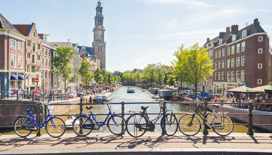 Amsterdam is just a hop, skip and a jump from London.