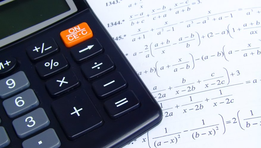 How To Solve Polynomials On A Ti 84 Plus Sciencing