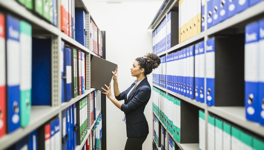 Most Common Filing Systems