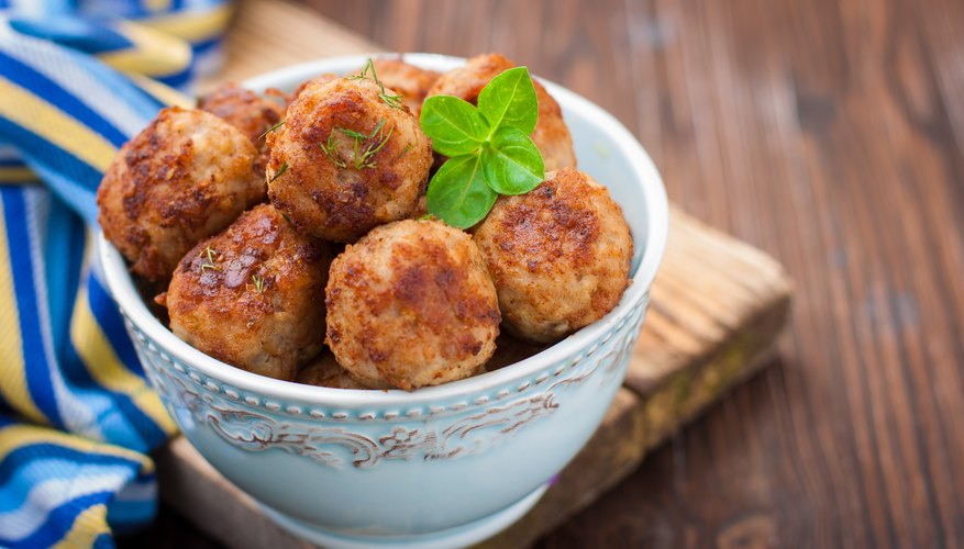 Easy Turkey Meatballs for Baby Recipe