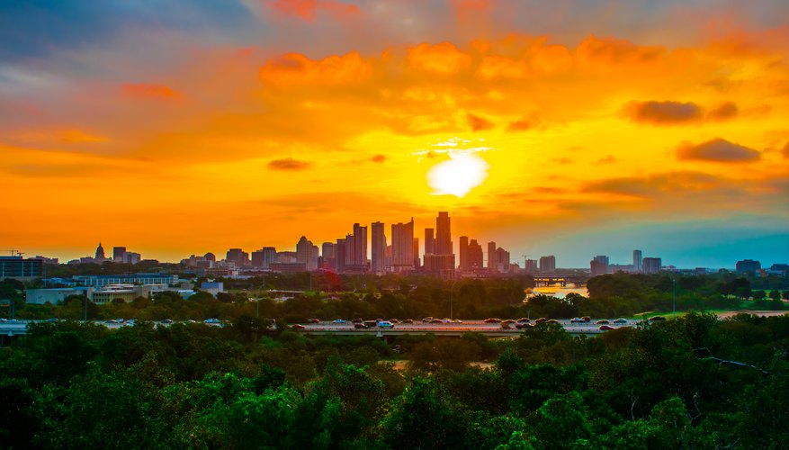 Best Time to View Sunrises in Austin