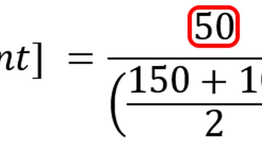 Subtracting the values in the numerator results in the absolute change.