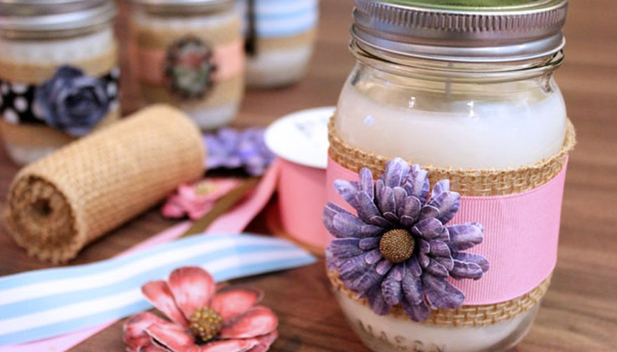 Decorate the jars