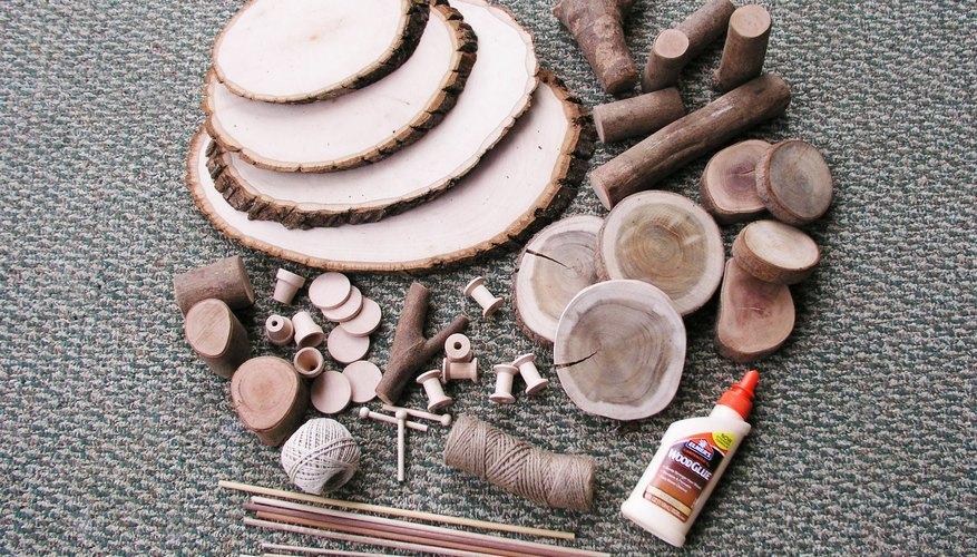 Materiales para la casa del árbol.