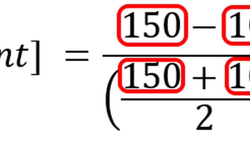 The formula variables are replaced by actual values.
