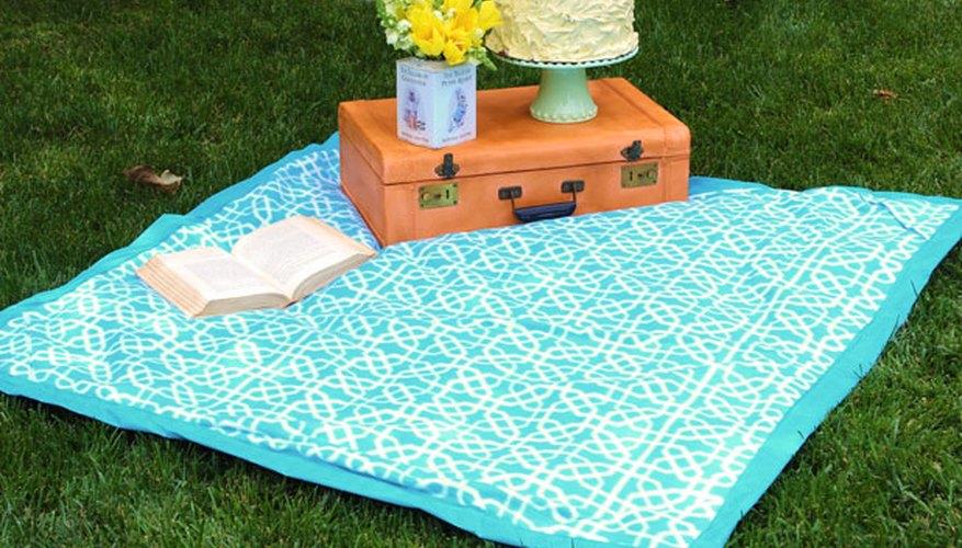 Una manta para picnic.
