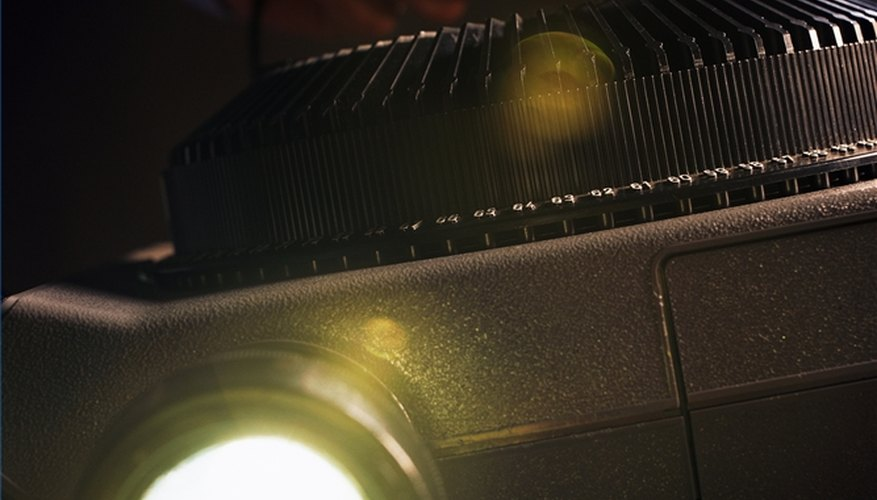 Use a Slide Projector
