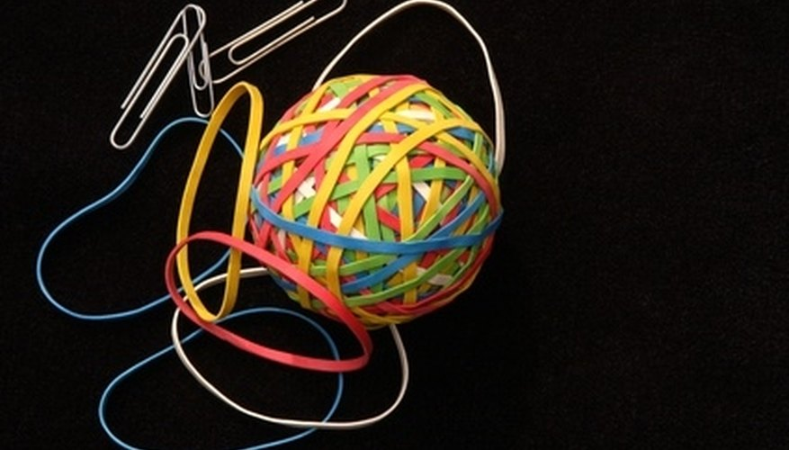 Magically Break and Repair a Rubber Band