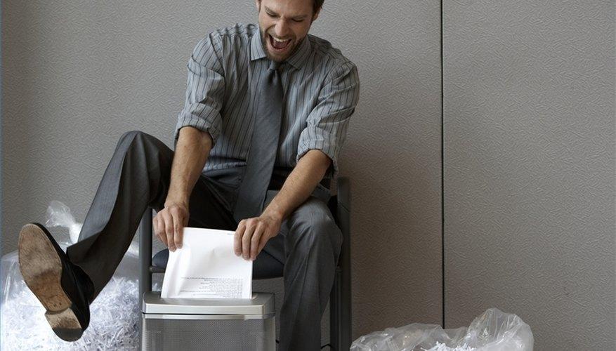 Troubleshoot a Paper Shredder