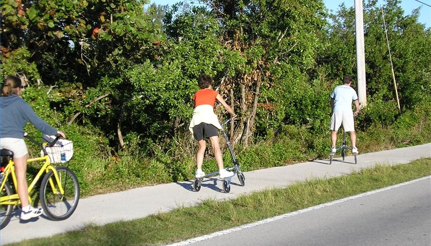 Sanibel's bike path