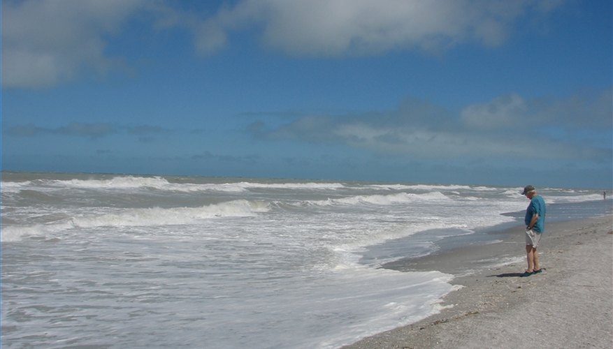 The beach always beckons