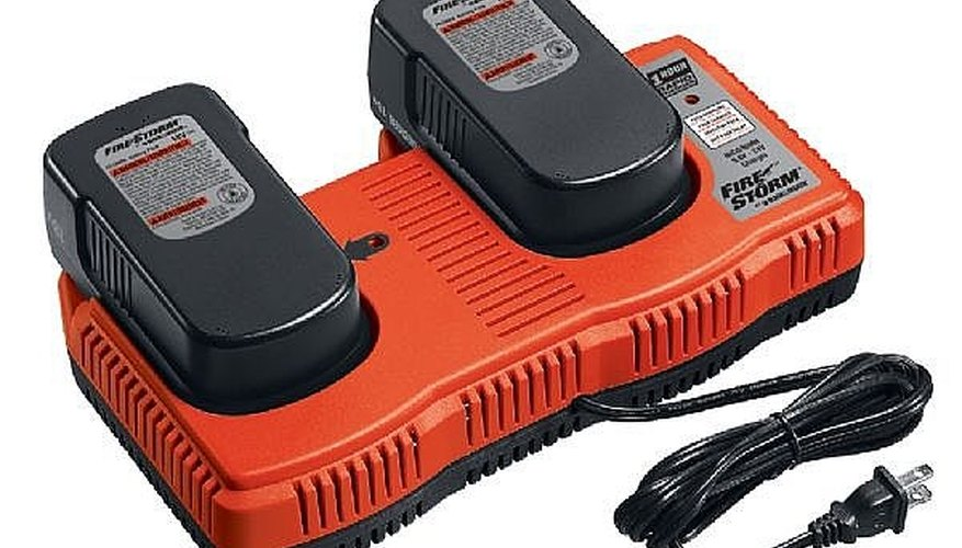 Here is a picture of a dual battery charger, most chargers have instructions on them for charging