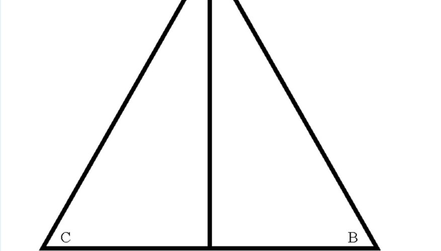 Illustration of Triangle ABCD