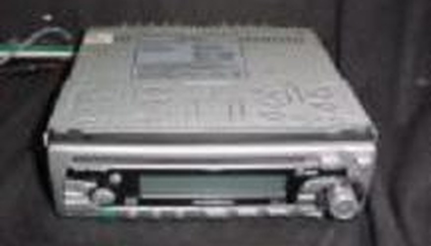 Typical car stereo unit