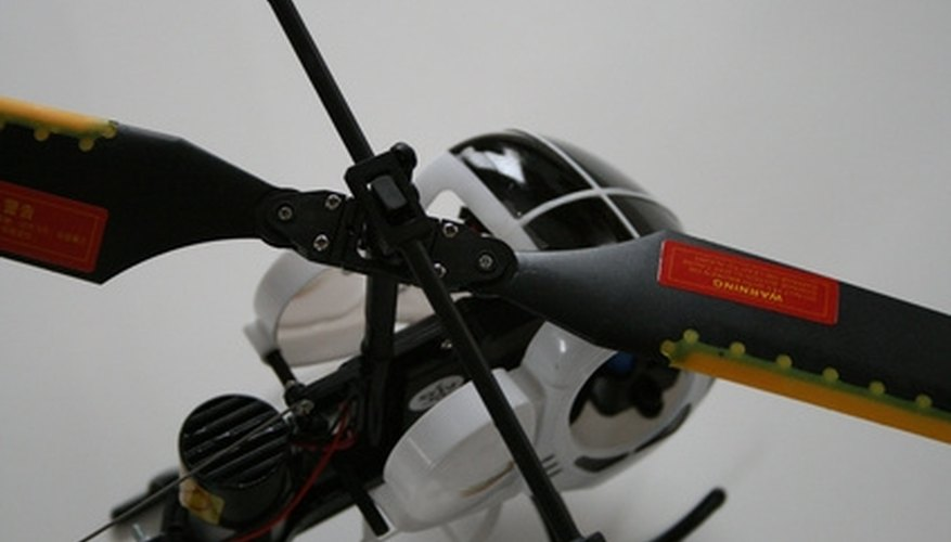 You can make your own version of a toy helicopter.