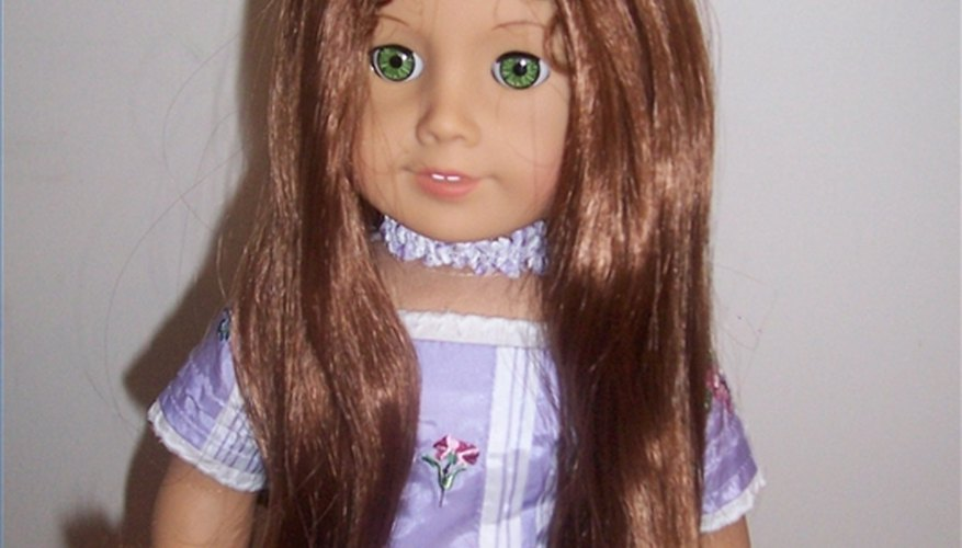 American Girl Doll Felicity with reconditioned hair