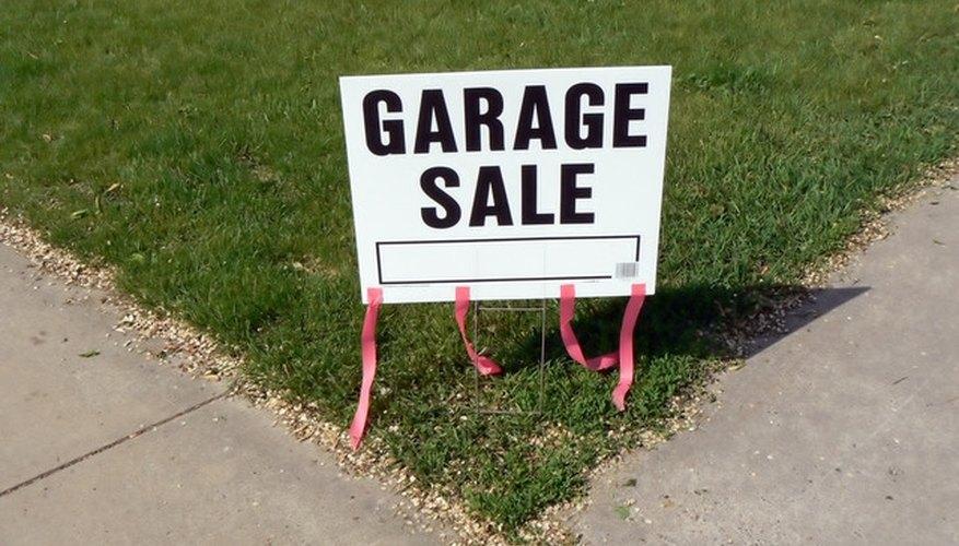 Set Up a Garage Sale