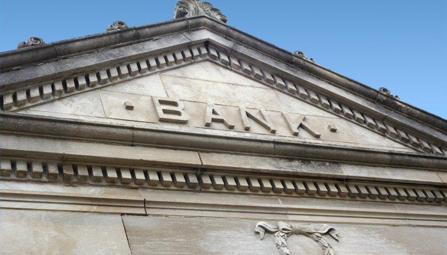 Check a bank's credit rating