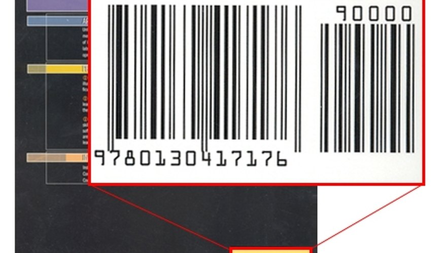 Sample ISBN number and bar code