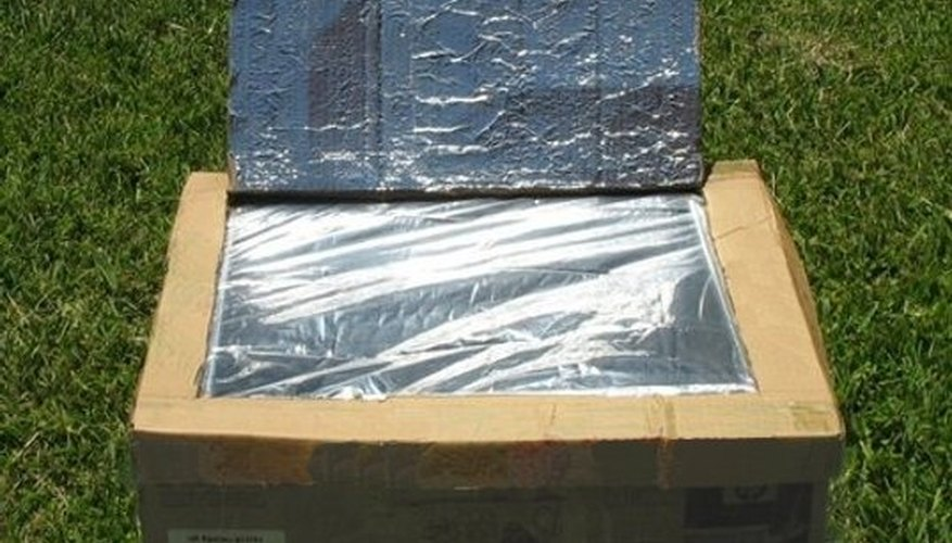 How to make a solar oven science fair project sciencing for How to build a solar oven for kids