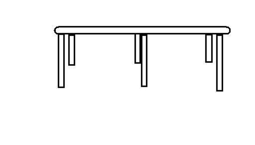 Connect Legs to the Table Top Frame