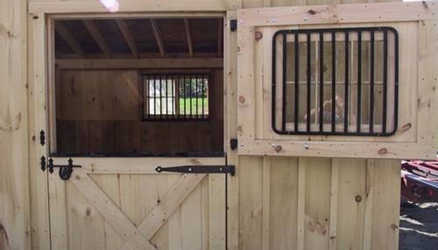 Beautiful Dutch Door & How to Build Dutch Doors for a Horse Barn | Garden Guides