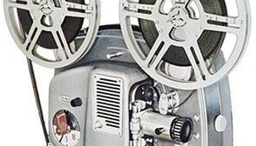 Thread an 8mm Projector