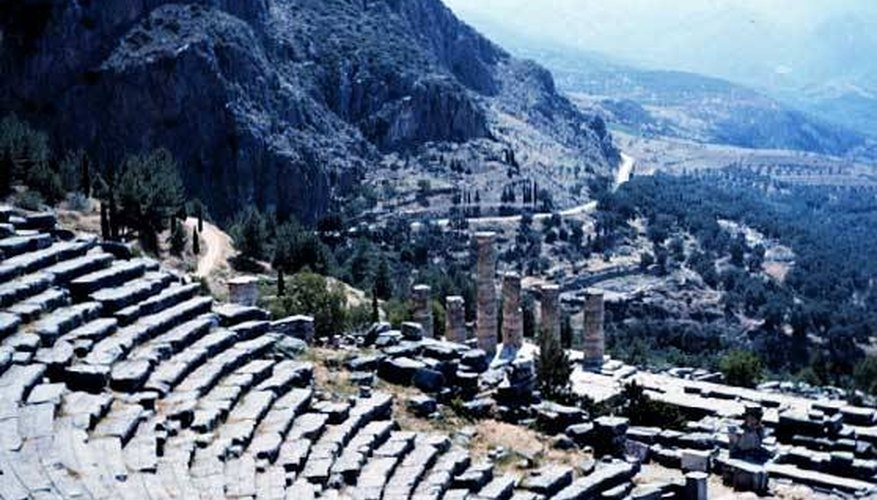 Theater used in ancient Greece