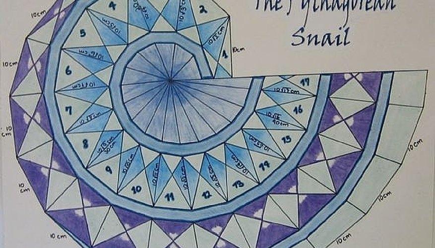 Una espiral terminada lucirá como esto