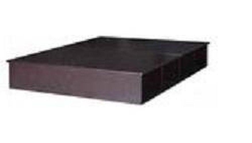 Platform bed base