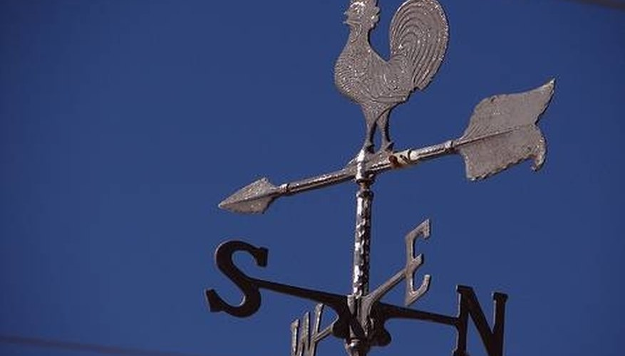 how does a wind vane work