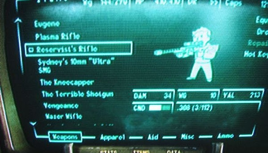 Find the Reservist's Rifle in Fallout 3
