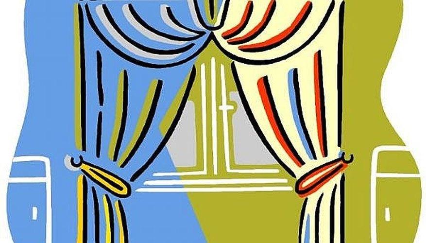 Split curtains