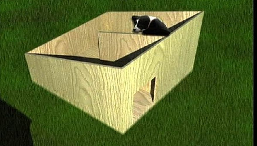 Dog house plan and video from Ron Hazelton