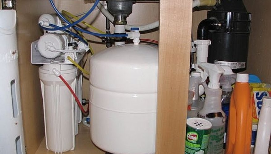 This is my Reverse Osmosis System