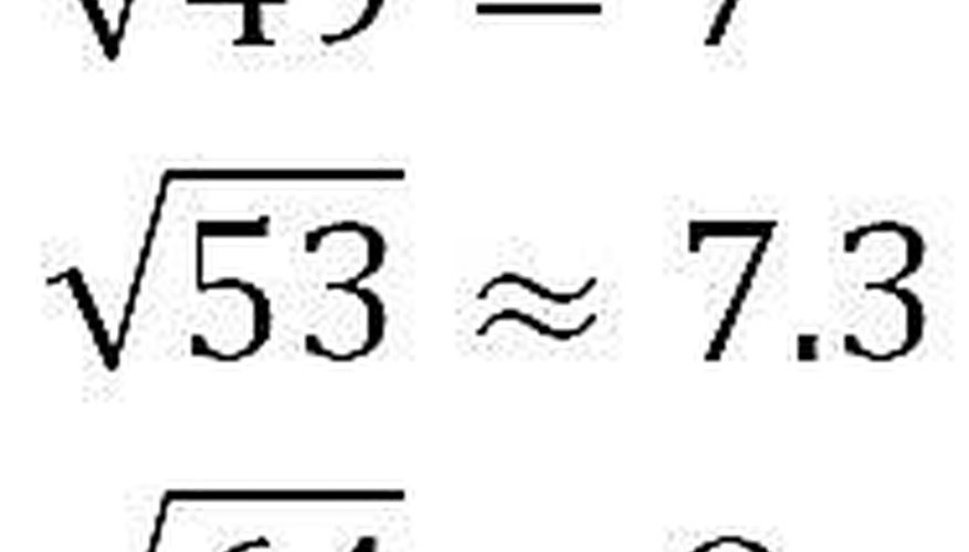 Estimating Sqrt(53)