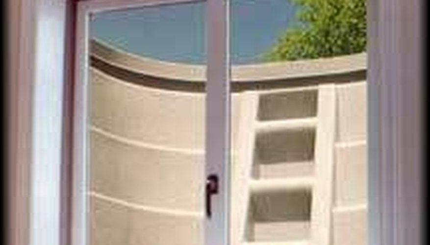 An example of an egress window.