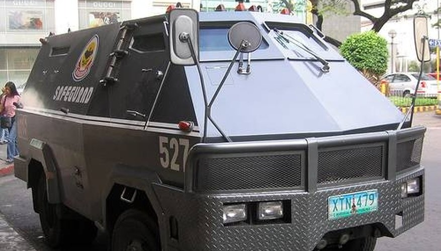 Armored Guard Transporting Money Jobs