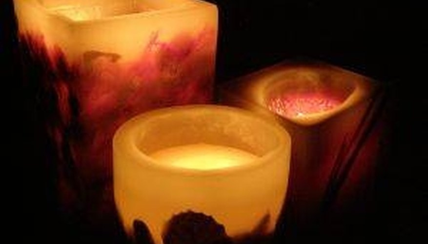 Shrink Wrap Candles