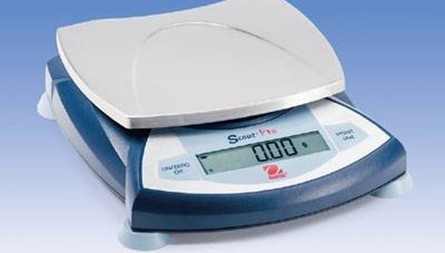 Calibrate your scale to make sure it is reading weights correctly.
