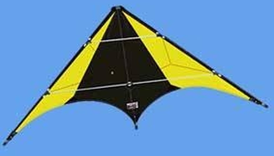 The Delta design is a manueverable and flashy kite design.