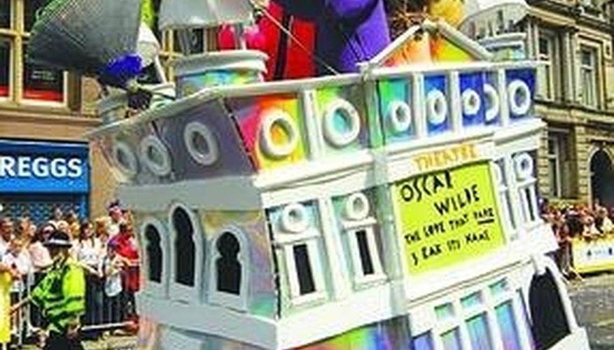 Make a Miniature Parade Float