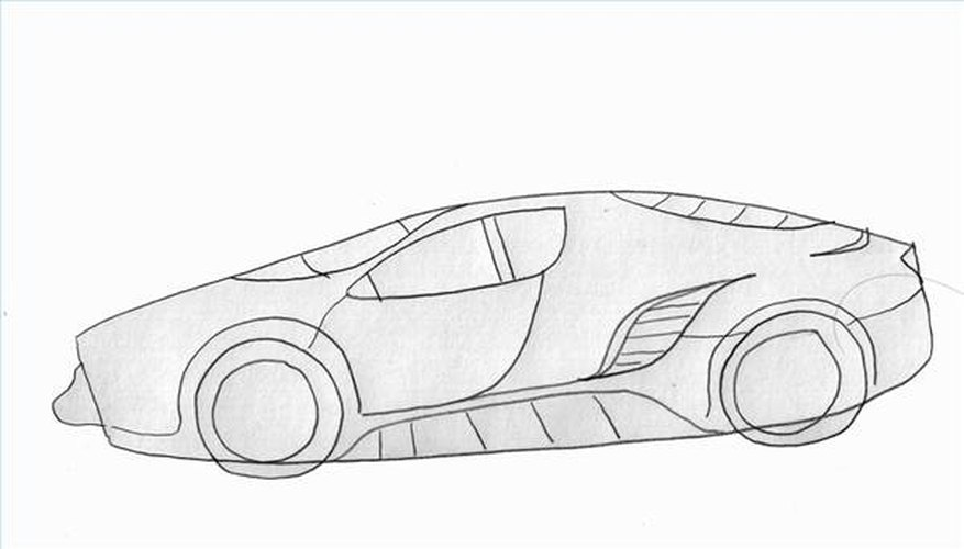 How to Draw a Super Car | Our Pastimes