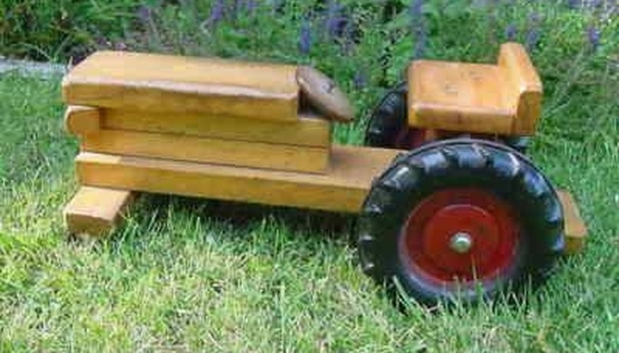 Make Tractors Out of Wood