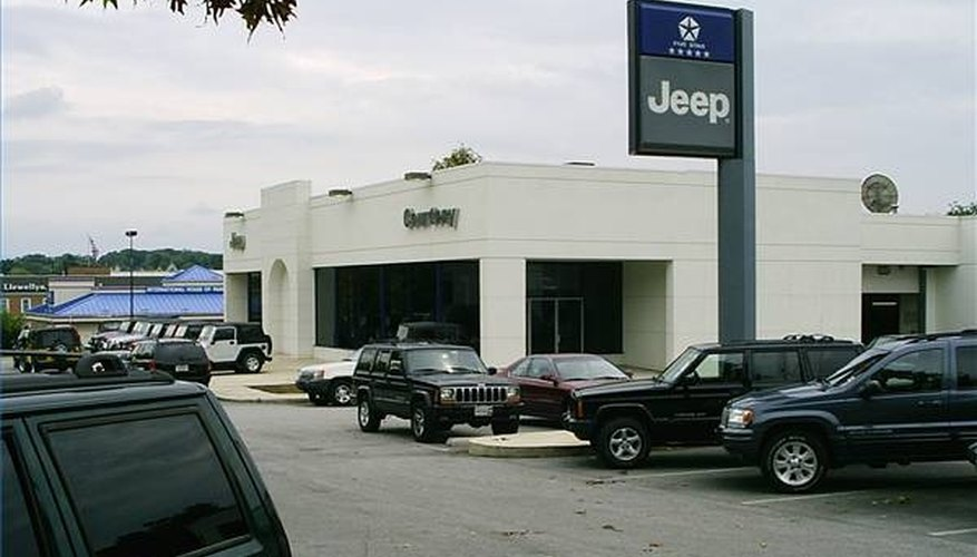 New car dealerships are a lot of work and require a big investment.