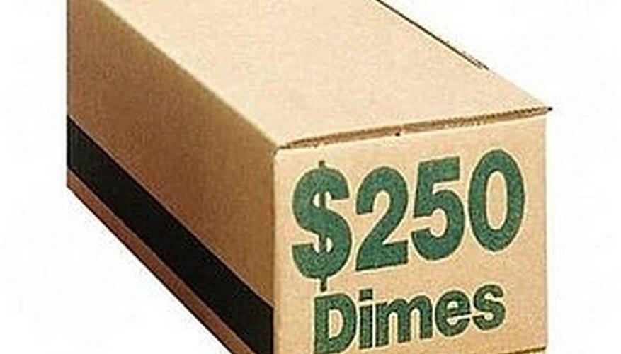50 Rolls of dimes
