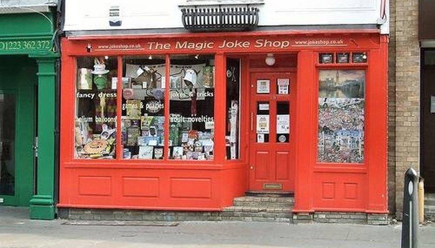 Starting a Magic Shop