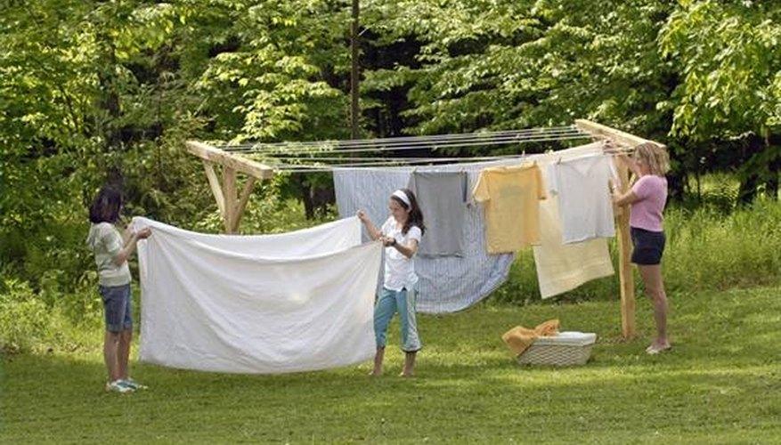 Standard Backyard Clothesline