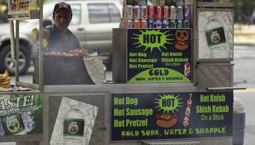 A hot dog vending business can be fun and profitable.