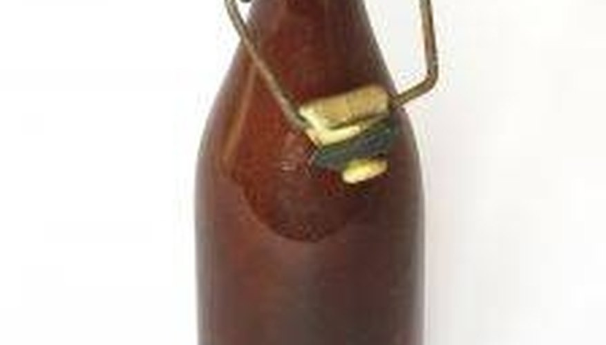 Identify Vintage and Antique Brown Glass Bottles